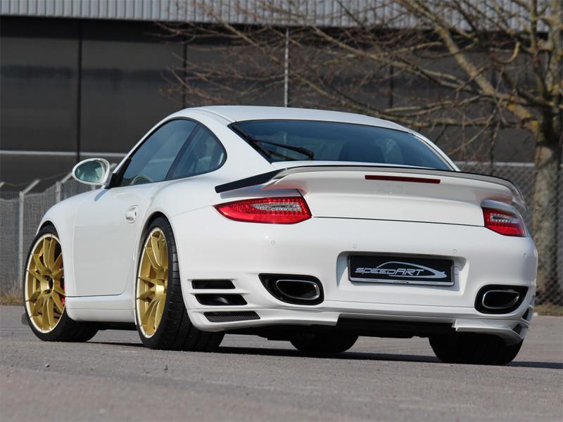 Btr Ii 600 Evo Gold Speedart Porsche Tuning