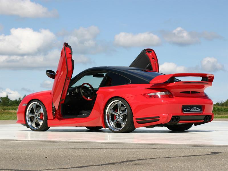 997 Carreras Red Gullwing Speedart Porsche Tuning