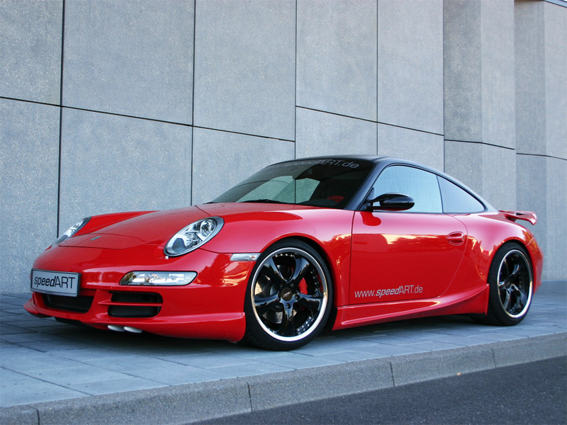997 Carreras Rot Cs Speedart Porsche Tuning