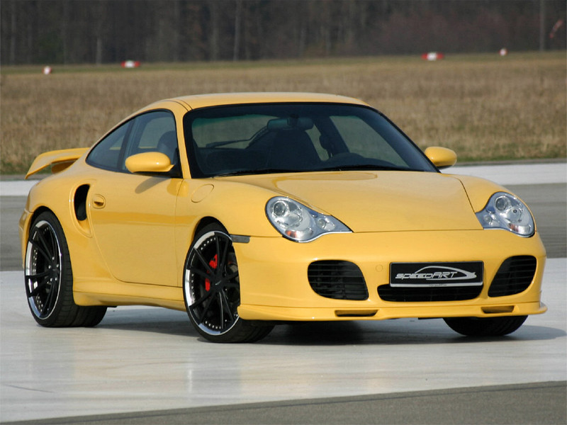 996 Turbo Yellow Speedart Porsche Tuning