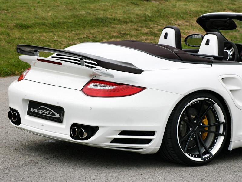 997 2 ое поколение Turbo Carbon Speedart Porsche Tuning