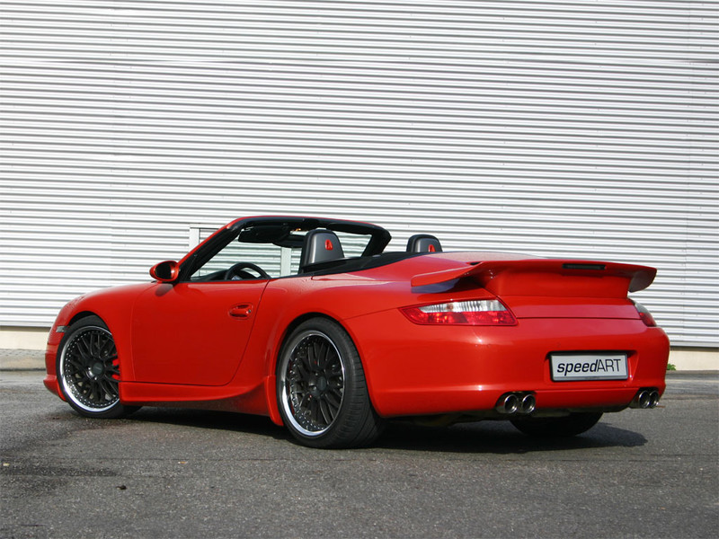 997 Carreras Orange Cs Speedart Porsche Tuning