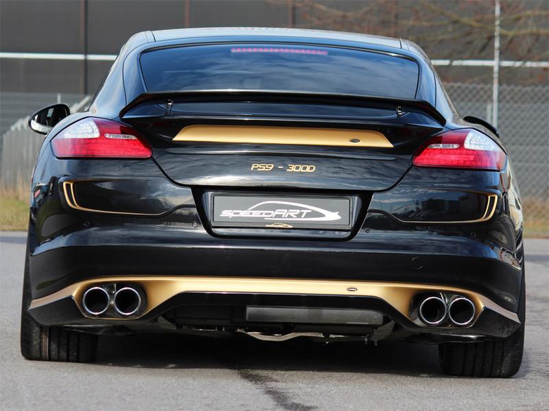 970 Panamera Diesel Gold 2 Speedart Porsche Tuning