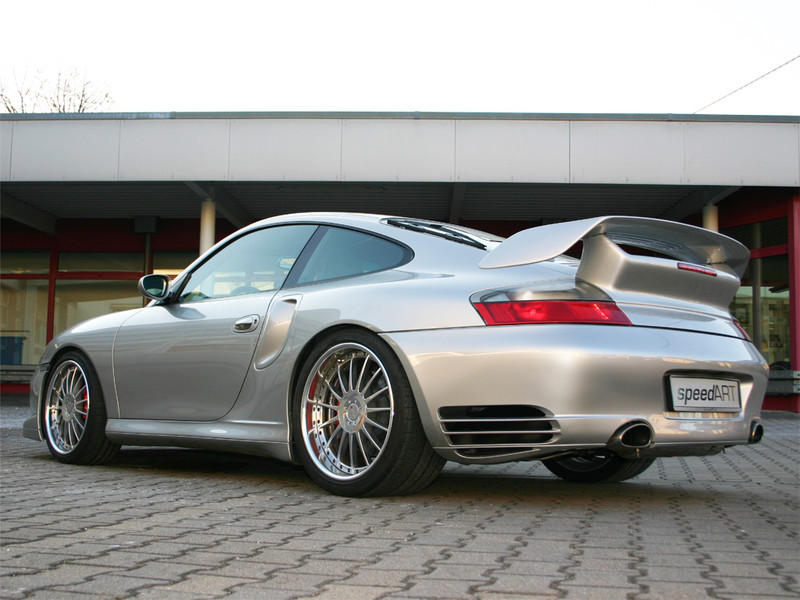 996 Gt2 Silber Speedart Porsche Tuning
