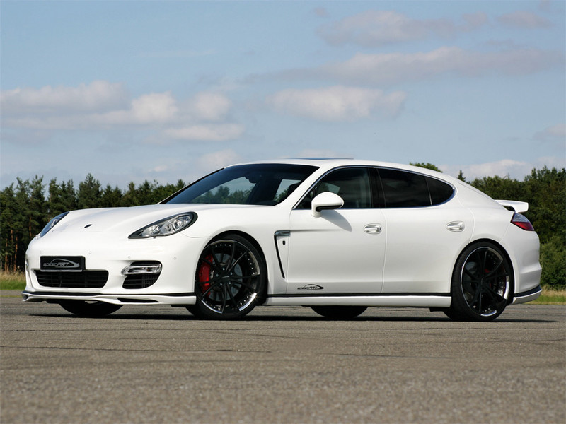 970 Panamera White 2 Speedart Porsche Tuning