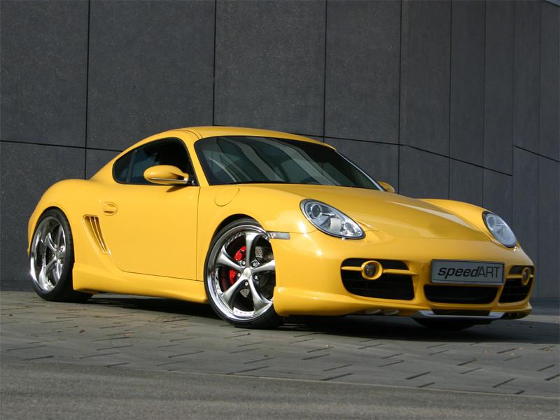 Cs 325 Yellow Rsc Speedart Porsche Tuning